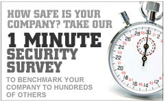 take our 1 minute security survey