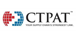 CTPAT certification reduces inspection overhead for your company